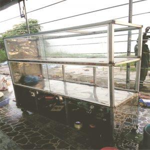 xe inox ban hang