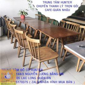 Bàn ghế quán cafe cũ tại Đà Nẵng